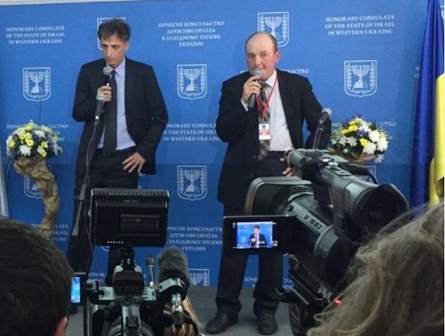 Эли Белоцерковски - Посол Израиля в Украине.